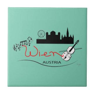 Wien、オーストリア- Österreich タイル