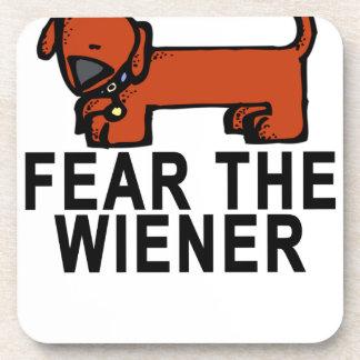 WIENER.pngを恐れて下さい コースター