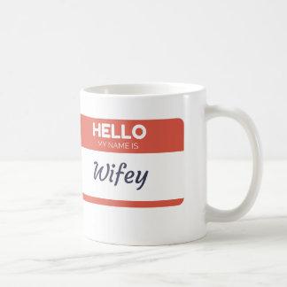 Wifeyのマグ コーヒーマグカップ