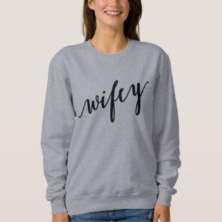 Wifeyのワイシャツ スウェットシャツ