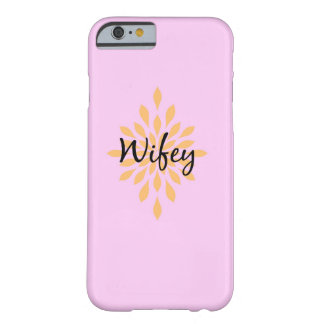 wifeyの電話箱 barely there iPhone 6 ケース