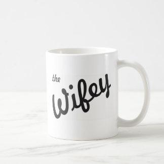 Wifey コーヒーマグカップ
