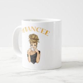 #Wifey/#Fianceのマグ ジャンボコーヒーマグカップ