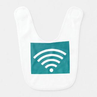 Wifiのよだれかけ ベビービブ