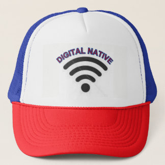 WiFiのトラック運転手の帽子 キャップ