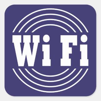 wifiの印 スクエアシール