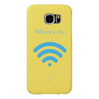 WiFiはどこにありますか。 Samsung Galaxy S6 ケース