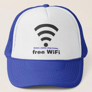 WiFiを考える声喩の単語の雑談 キャップ