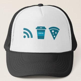 Wifiコーヒーピザ キャップ