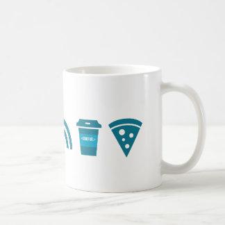 Wifiコーヒーピザ コーヒーマグカップ