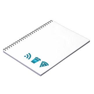 Wifiコーヒーピザ ノートブック