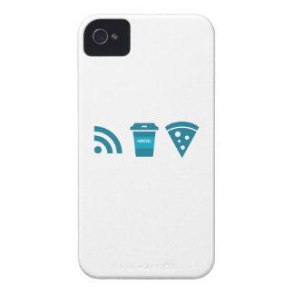 Wifiコーヒーピザ Case-Mate iPhone 4 ケース