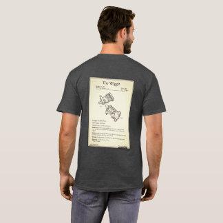 WiggitのパテントのTシャツ Tシャツ