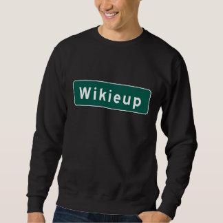 Wikieupの道のマーカー、アリゾナ、米国 スウェットシャツ