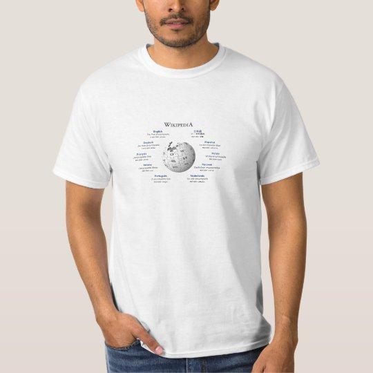 wikipedia tシャツ