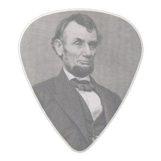 Wil著写真から刻まれるエイブラハム・リンカーン アセタール ギターピック