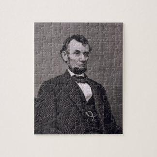Wil著写真から刻まれるエイブラハム・リンカーン ジグソーパズル