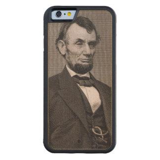 Wil著写真から刻まれるエイブラハム・リンカーン CarvedメープルiPhone 6バンパーケース