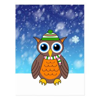 Wilbertの最初降雪 ポストカード