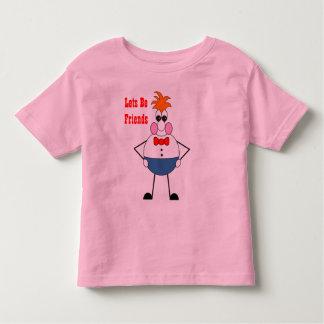 Wilburの虫の目は友人のTシャツであるために割り当てます トドラーTシャツ