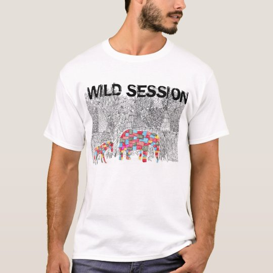 WILD SESSION Tシャツ