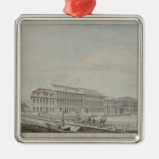 Wilhelmsplatz、c.1773の西の面 メタルオーナメント