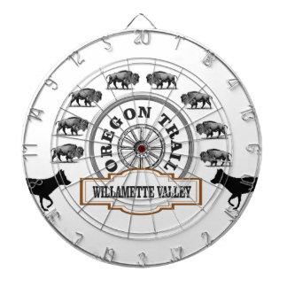 Willametteの谷のオレゴンの道のボーナス ダーツボード