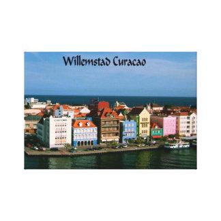 Willemstadクラサオ島 キャンバスプリント