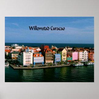 Willemstadクラサオ島 ポスター