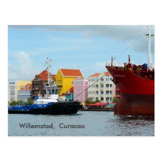 Willemstad、クラサオ島 ポストカード