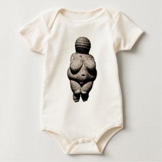 Willendorfの金星 ベビーボディスーツ