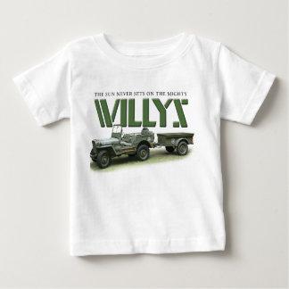 Willysの幼児のティー ベビーTシャツ