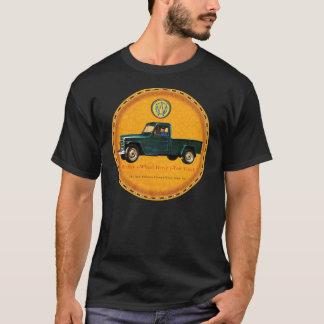 Willys 1トンのトラック tシャツ