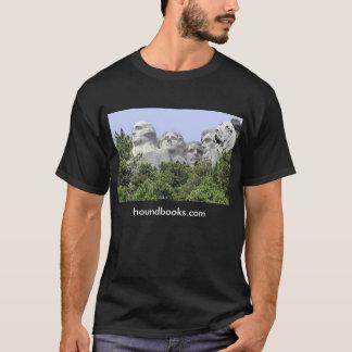 Wimseyのラシュモア山ブラッドハウンド Tシャツ
