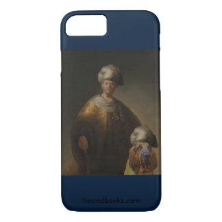 Wimseyの東洋の衣裳の人ブラッドハウンド iPhone 8/7ケース