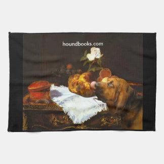 WimseyのManetのブリオッシュブラッドハウンド キッチンタオル