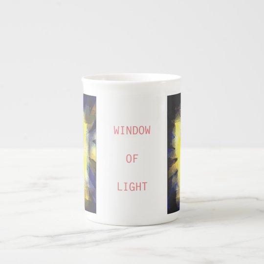 WINDOW OF LIGHT ボーンチャイナカップ