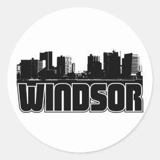 Windsorのスカイライン ラウンドシール