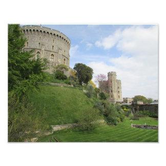 Windsorの城の写真 フォトプリント