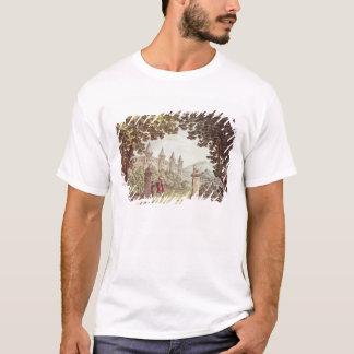 Windsorの城の庭 Tシャツ