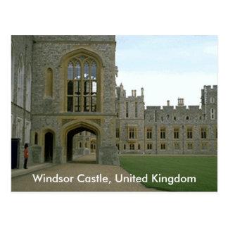 Windsorの城、イギリス ポストカード