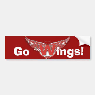 Windsorの翼 バンパーステッカー