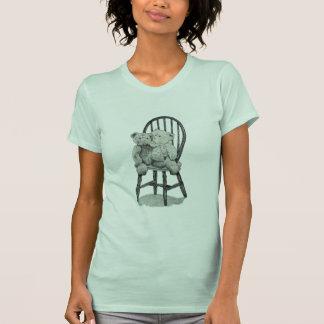 """""""Windsorの2つのテディ""""の女性のアメリカの服装 Tシャツ"""