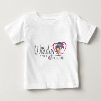 Windysのロゴ ベビーTシャツ