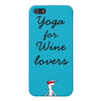 Wineloversの私電話カバーのためのヨガ iPhone 5 Cover