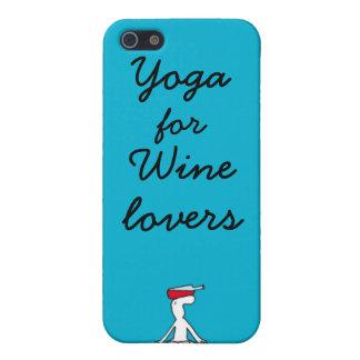 Wineloversの私電話カバーのためのヨガ iPhone SE/5/5sケース