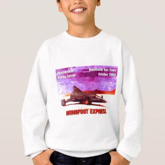 Wingfoot明白なロケットの車 スウェットシャツ