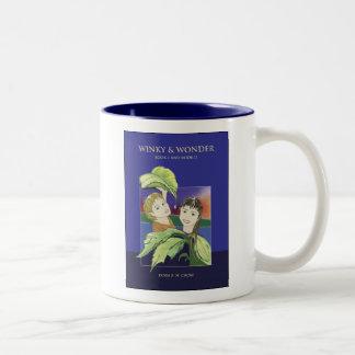 Winkyおよび驚異のマグ ツートーンマグカップ