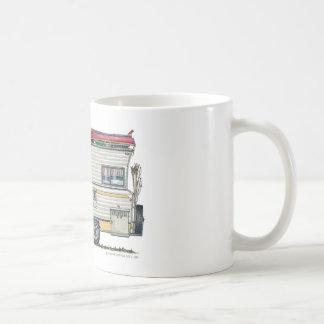 WinnebagoのキャンピングカーRVのマグ コーヒーマグカップ