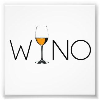 Winoのワイン愛好家ガラス フォトプリント